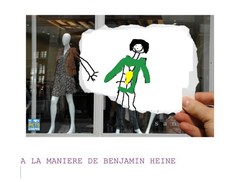A LA MANIERE DE BENJAMIN HEINE
